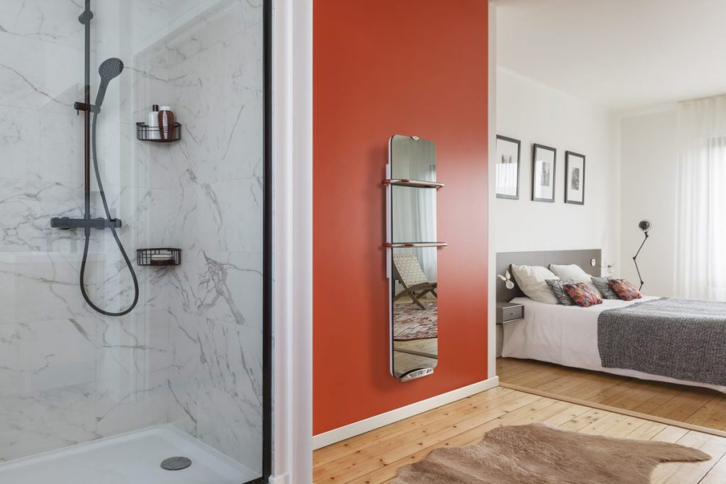 Radiateur design miroir