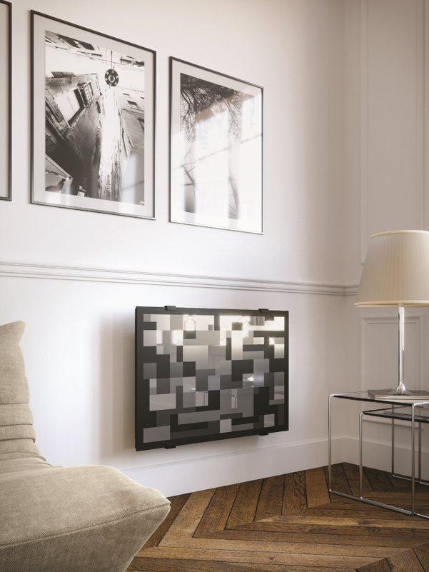 Radiateur design mosaïque