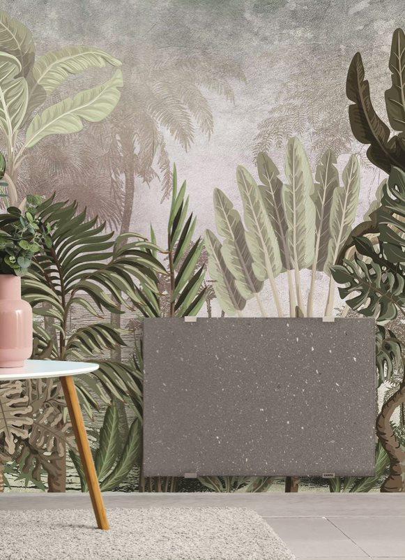 Radiateur design pierre de lave